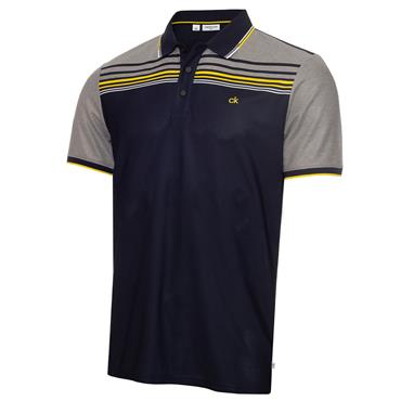 Calvin Klein Golf Gents Nelson Polo Shirt Navy