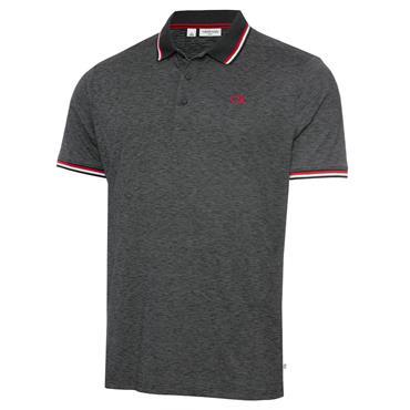 Calvin Klein Golf Gents Casper Polo Shirt Charcoal Marl
