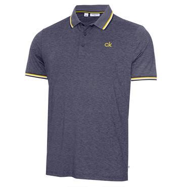 Calvin Klein Golf Gents Casper Polo Shirt Navy Marl