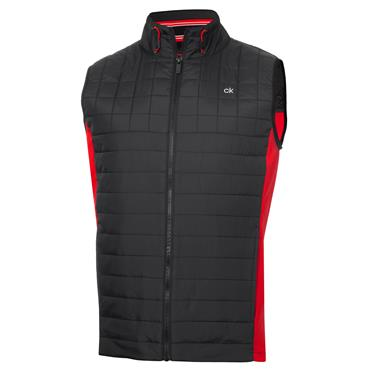 Calvin Klein Golf Gents Vardon Hybrid Gilet Power Black