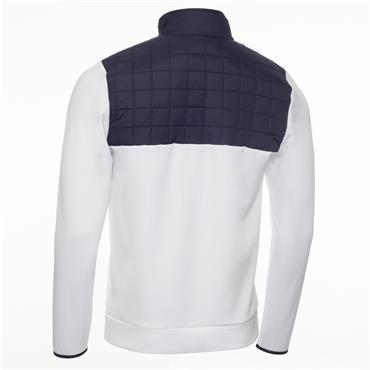 Calvin Klein Golf Gents Vardon Hybrid 1/2 Zip Top White