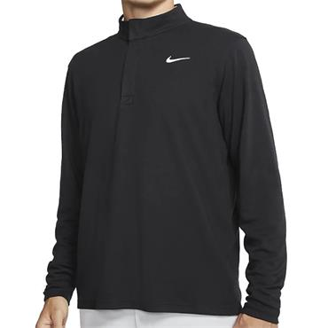 Nike Gents Dri-Fit Half Zip Top Black