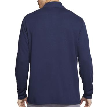 Nike Gents Dri-Fit Half Zip Top Navy