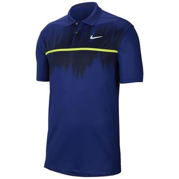 Nike Gents Dri-Fit Vapor Polo Shirt Blue 455