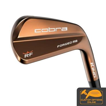 Cobra King RF MB Copper 7 Steel Irons 4-PW Gents RH