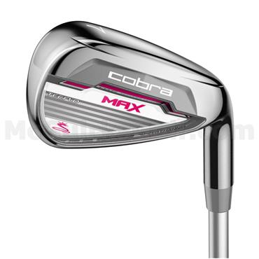 Cobra Max Graphite 6 Irons 6-SW Ladies RH
