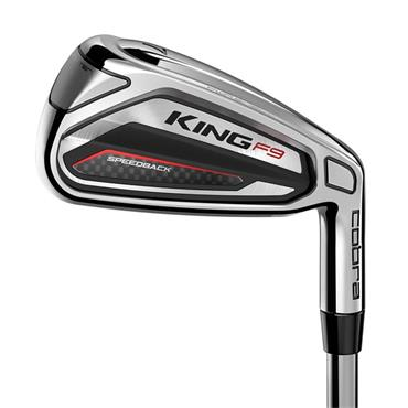 Cobra King F9 Speedback 7 Steel Irons 5-GW Gents RH
