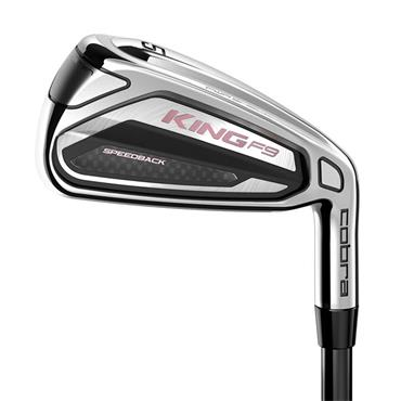 Cobra King F9 Speedback 7 Graphite Irons 5-SW Ladies RH