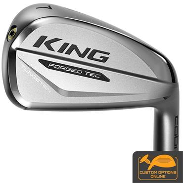 Cobra King Forged Tec Silver 7 Steel Irons 4-PW Gents RH