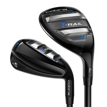 Cobra T-Rail Graphite Combo Iron Set 5 Hybrid 6-SW Ladies RH