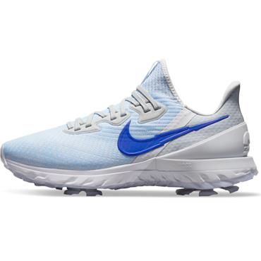 Nike Gents Air Zoom Infinity Tour Shoes White - Blue