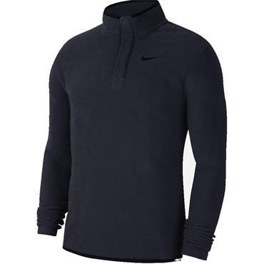 Nike Gents 1/2 Zip Therma Top Obsidian