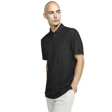 Nike Gents Dri-Fit Tiger Woods Polo Shirt Dark Smoke Grey 070
