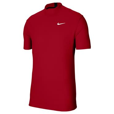 Nike Gents Dri-Fit Tiger Woods Polo Shirt Red