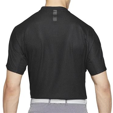 Nike Gents Dri-Fit ADV Tiger Woods Blade Polo Shirt Black