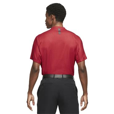 Nike Gents Dri-Fit ADV Tiger Woods Blade Polo Shirt Team Red - Gym Red