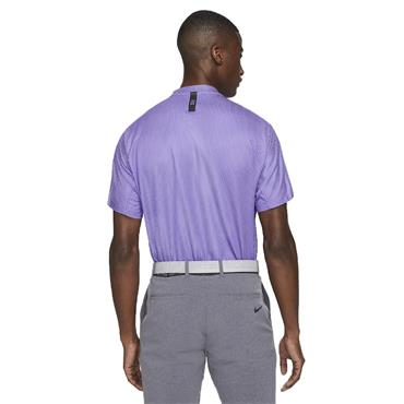 Nike Gents Dri-Fit ADV Tiger Woods Blade Polo Shirt Wild Violet - Purple Pulse