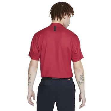 Nike Gents Dri-Fit TW Mock Neck Team Red - Gym Red - White