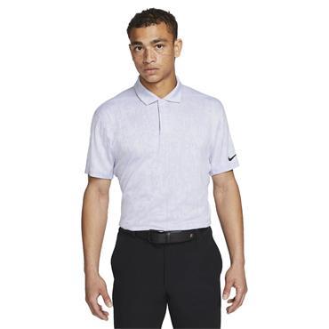 Nike Gents Dri-Fit ADV Tiger Woods Polo Shirt Purple