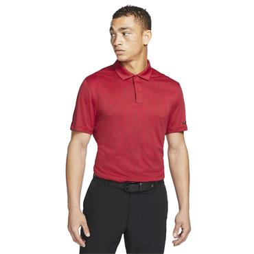 Nike Gents Dri-Fit ADV Tiger Woods Polo Shirt Team Red - Gym Red