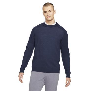 Nike Gents Tiger Woods Knit Sweater Obsidian