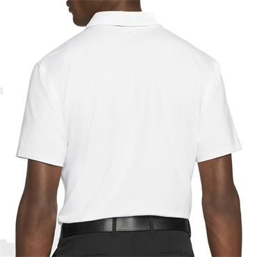 Nike Gents Dri-Fit Vapor Graphic Polo White