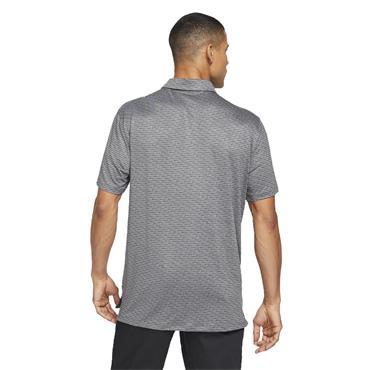 Nike Gents Dri-Fit Vapor Stripe Polo Shirt Dark Smoke