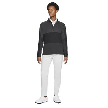 Nike Gents Dri-Fit Vapor ½ Zip Top Black - Grey