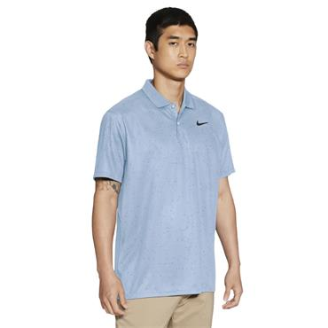 Nike Gents Dri-Fit Victory Printed Polo Shirt Hydrogen Blue 407