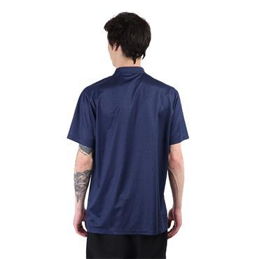Nike Gents Dri-Fit Victory Printed Polo Shirt Navy
