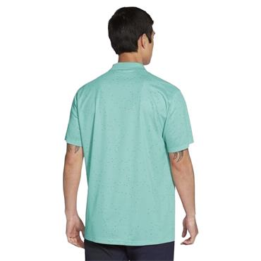 Nike Gents Dri-Fit Victory Printed Polo Shirt Tropical Twist - Obsidian