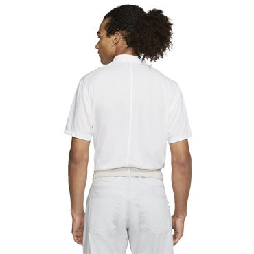 Nike Gents Dri-Fit Victory Printed Polo Shirt White