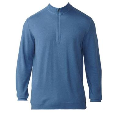 Adidas Gents 1/4 Zip Wool Pullover Trace Royal