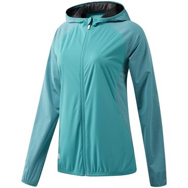 adidas Ladies ClimaStorm Jacket Aqua