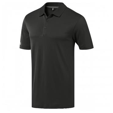 Adidas Gents Performance Polo Shirt Black