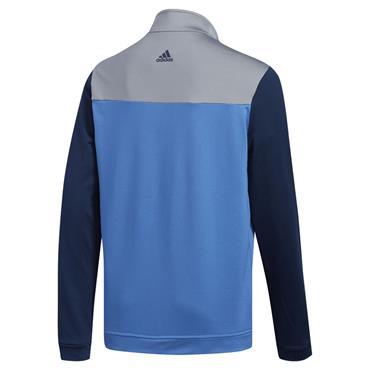 Adidas Junior - Boys 1/2 Zip Layer Top Trace Royal