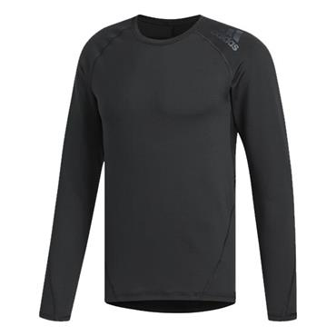 adidas Gents Climawarm Crew Baselayer Black