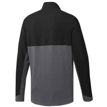 adidas Gents Go-To Adapt 1/4 Zip Top Black - Grey