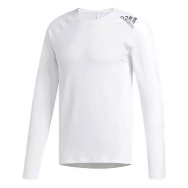 adidas Gents Climawarm Crew Baselayer White