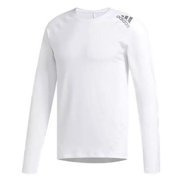 adidas Gents Climawarm Crew Baselayer White