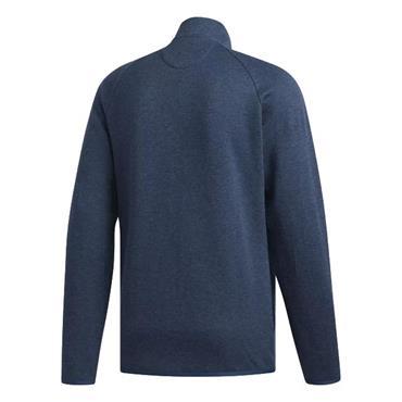 adidas Gents Climawarm Fleece Zip Sweater Blue
