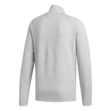 adidas Gents Climawarm Fleece Zip Sweater Grey - Heather