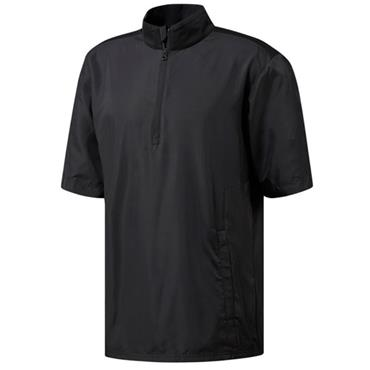 adidas Gents Short Sleeve Wind Top Black