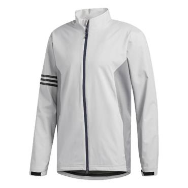 adidas Gents Climaproof Rain Jacket Grey Two