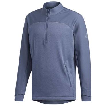 adidas Gents GoTo 1/4 Zip Top Blue