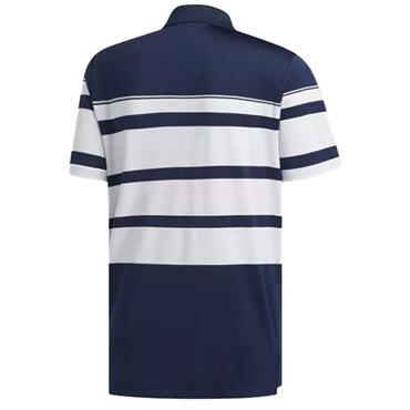 adidas Gents Ultimate 365 Wraparound Polo Shirt Navy - White