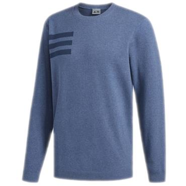 adidas Gents Blend Crew Sweater Ink - Melange