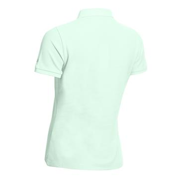 Calvin Klein Golf Ladies Performance Cotton Pique Polo Shirt Aqua