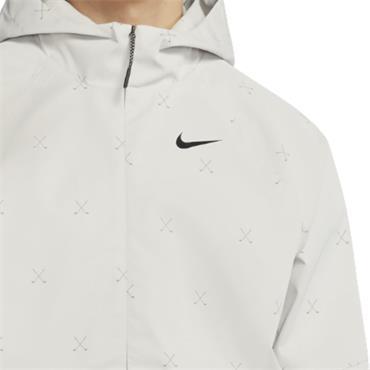 Nike Gents Repel Printed Anorak Jacket Light Bone