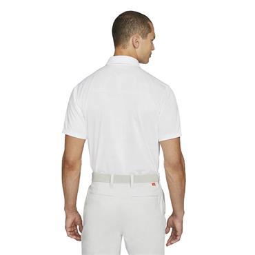 Nike Gents Dri-Fit Vapor Polo Shirt White